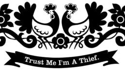 Trust Me I'm A Thief Logo