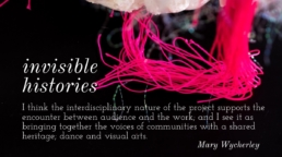 Invisible Histories by Mary Wycherley Dance Design Bold&Brass
